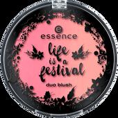 Bild: essence Life is a Festival Duo Blush