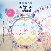 Bild: essence Life is a Festival Finger und Body Jewellery Tattoos