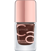 Bild: Catrice Brown Collection Nagellack fashion addicted