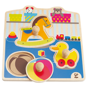 Bild: Hape Knopfpuzzle Mein Spielzeug