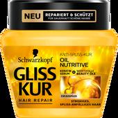 Bild: Schwarzkopf GLISS KUR Oil Nutritive Anti-Spliss-Kur