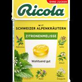 Bild: Ricola Zitronenmelisse Schweizer Kräuter-Bonbons