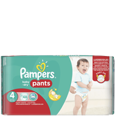 Bild: Pampers Baby-Dry Pants Gr.4 (8-14 kg) Big Bag