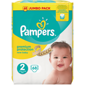 Bild: Pampers premium protection Gr. 2 (3-6 kg) Jumbo Pack