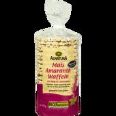 Bild: ALNATURA Mais-Amaranth Waffeln mit Reis & Leinsamen