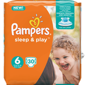 Bild: Pampers sleep & play Gr.6 (15+kg)