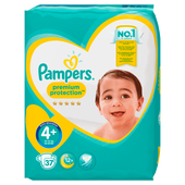 Bild: Pampers premium protection Gr. 4+(9-18kg) Value Pack