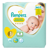 Bild: Pampers premium protection new baby Windeln Gr. 1 (2-5kg)