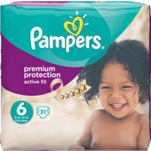 Bild: Pampers Active Fit Active Fit Gr. 6 (15+kg) Value Pack