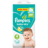 Bild: Pampers Giga Pack Gr. 4 (8-16kg)