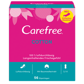 Bild: Carefree normal mit Cotton Extrakt Slipeinlagen