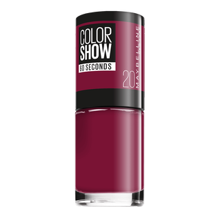 Bild: MAYBELLINE Colorshow 60 seconds Nagellack blush berry