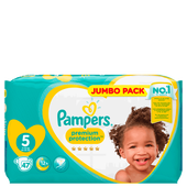Bild: Pampers premium protection Gr. 5 (11-23 kg) Jumbo Pack