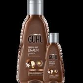 Bild: GUHL Farbglanz Braun Shampoo + Reisegröße