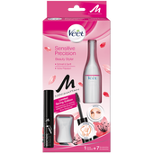 Bild: Veet Senstive Precision Beauty Styler + gratis Manhattan Eye Brow Gel