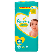 Bild: Pampers premium protection Gr. 4+ (9-18kg) Jumbo Pack