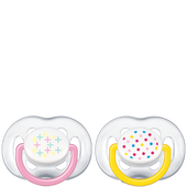 Bild: PHILIPS AVENT Schnuller Freeflow Fashion 6-18M Girls