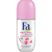 Bild: Fa Natural & Soft Deo Roll On Rose Blossom Scent