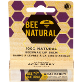 Bild: BEE NATURAL Lippenbalsam Acai Berry