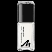 Bild: MANHATTAN Last & Shine Nagellack paint it white
