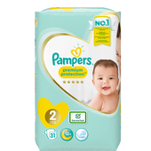 Bild: Pampers premium protection new baby Windeln Gr. 2 (3-6kg)