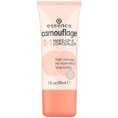 Bild: essence Camouflage 2in1 Make-Up & Concealer 10 ivory beige