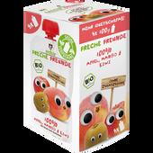 Bild: Freche Freunde Quetschie Multipacks Apfel, Mango & Kiwi
