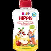 Bild: HiPP Hippis Kirsche-Banane in Apfel mit Vollkorn