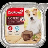 Bild: ZooRoyal Pastete mit Rind und Leber