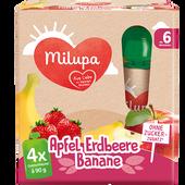 Bild: Milupa MiluJause Apfel Erdbeere Banane