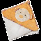 Bild: Babyfehn Kapuzenbadetuch Teddy
