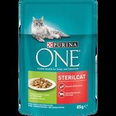 Bild: Purina ONE STERILCAT Truthahn & grüne Bohnen