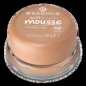 Bild: essence Soft Touch Mousse Make-Up matt beige