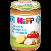 Bild: HiPP Tomaten und Kartoffeln mit Bio-Hühnchen