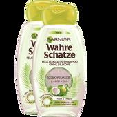 Bild: GARNIER Kokoswasser & Aloe Vera Shampoo Doppelpack