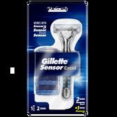 Bild: Gillette Sensor Rasierer