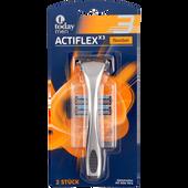 Bild: today Actiflex X3 Rasierer