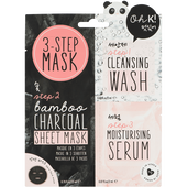 Bild: Oh K! 3-Step Bamboo Charcoal Sheet Mask
