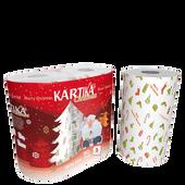 Bild: KARTIKA Küchenrolle Weihnachtsmotiv
