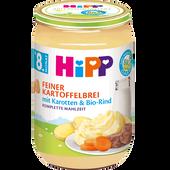 Bild: HiPP Feiner Kartoffelbrei mit Karotten & Bio-Rind