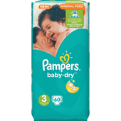 Bild: Pampers Baby-Dry Gr.3 (5-9kg) Big Bag