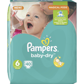 Bild: Pampers Baby-Dry Gr. 6 (15+kg) Big Bag