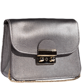 Bild: LOOK BY BIPA Crossbody Bag metallic