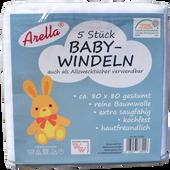 Bild: Arella Baby-Windeln Stoffwindel
