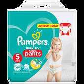 Bild: Pampers Baby-Dry Pants Gr.5 (12-18kg) Jumbo+ Pack