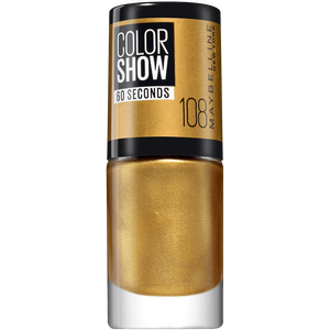 Bild: MAYBELLINE Colorshow 60 seconds Nagellack gold