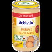 Bild: Bebivita Frucht&Getreide Apfel-Banane-Zwieback