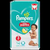 Bild: Pampers Baby-Dry Nappy Pants Gr. 3 (6-11kg) Value Pack
