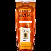 Bild: L'ORÉAL PARIS ELVITAL Öl Magique Coco Schwereloses Pflege-Shampoo