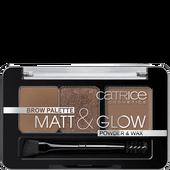 Bild: Catrice Brow Palette Matt & Glow now flash lights